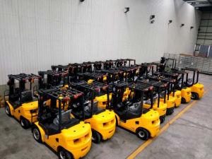 New 3.5 Ton Triplex Mast Side Shift Isuzu Engine Diesel Forklift pictures & photos