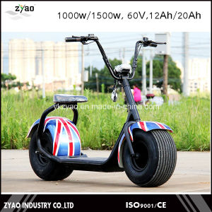 2017 Charge 1200W Motor60V12ah Battery Citycoco 1500W Fat Tire Scooter Electric Vehicle pictures & photos
