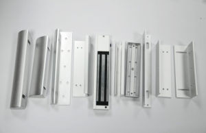 Aluminum Materials Electromagnetic Lock Door Lock Bracket for Access Control pictures & photos