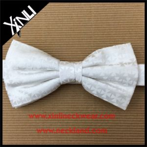 Mens Wholesale Custom Woven 100% Silk Masonic Bow Tie pictures & photos