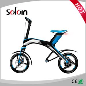 2 Wheel 300W Pocket Brushless Foldable E-Bicycle/Bike (SZE300B-1) pictures & photos