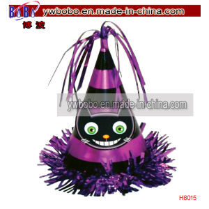 Halloween Purple Cat Party Cone Balloon Weights Headwear (H8015) pictures & photos