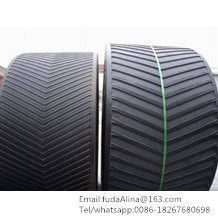 Multi-Ply Ep125 Chevron Rubber Conveyor Belt pictures & photos