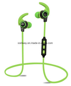 Four Color Sport Bluetooth Earphone Wireless Stereo Headset pictures & photos