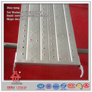 Galvanized Pressed Hole Type Scaffold Steel Board /Planks for Construction pictures & photos