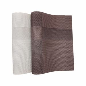 Jacquard Weave Insulation Anti-Skid PVC Woven Mat for Tabletop pictures & photos