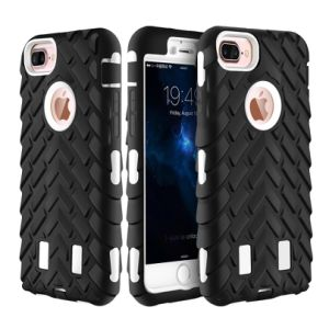 Mobile Phone Anti Defense Tire Protector Case Cover for iPhone 7 Plus 4.7 5.5 pictures & photos