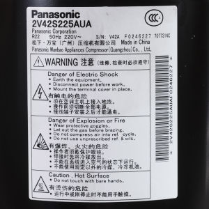 R22 220V-240V 50Hz 9000-28000BTU Panasonic Rotary Compressor pictures & photos