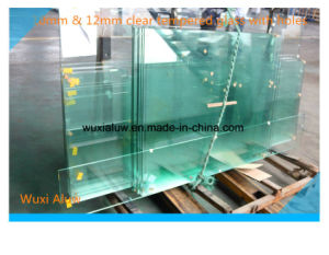 Cheap Clear Tempered Door Glass pictures & photos