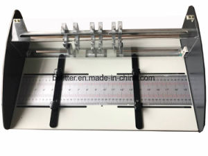 JP-460E creasing and perforating machine single/spine /hinge/perforating pictures & photos