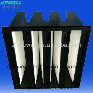 Ventilaton Mini Pleat Compact V Bank HEPA Filter pictures & photos