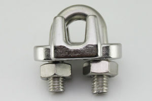 Stainless Steel Wire Rope Clip (MR07) pictures & photos