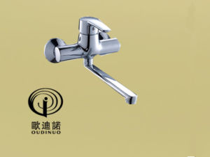 Brass Single Handle Wall-Mounted Faucet Kitchen Mixer & Faucet 69218-1 pictures & photos