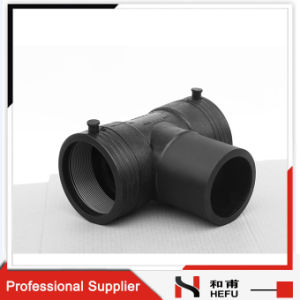 Black 2 Inch 3 Way Plastic T Gas Pipe Connectors pictures & photos