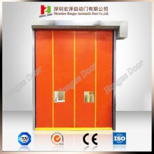 2017 EU Standard Ce Certificate Proved Plastic PVC Auto-Recovery High Speed Rolling Door (Hz-SC0230) pictures & photos