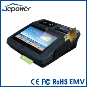 Jp762A Tablet Android System POS Terminal with Thermal Printer/ Card Reader/NFC/2D Barcode/3G pictures & photos