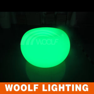 Garden Decoration Light up Color LED Round Plastic Cafe Table pictures & photos