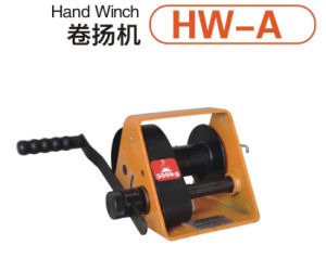 High Quality Hand Operated Lifting Winch with pictures & photos