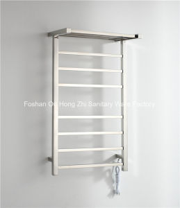 Wall Mounted Bathroom Towel Warmer with Top Shelf pictures & photos