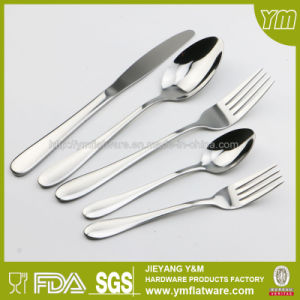 Wholesale Mirror Polished 24PCS Stainless Steel Dinnerware Set for Hotel Cutlery pictures & photos