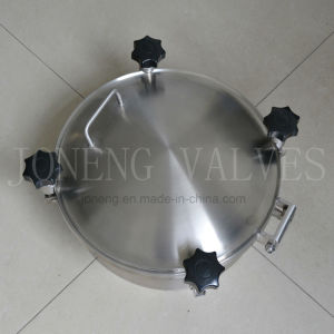 Stainless Steel Sanitary Round Pressure Dome Covers pictures & photos
