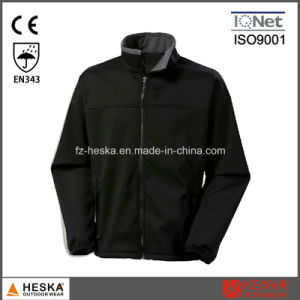 Mens Outdoor Cheap Beige Softshell Jacket pictures & photos