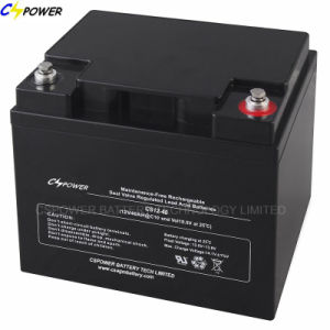 UPS Battery 12V55ah Solar Lead Acid Battery for Solar Panel pictures & photos