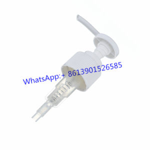 6cc Plastic Lotion Dispenser Pump of High Quality pictures & photos