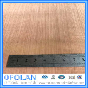 Hole Size 1.0mm (200mesh) High Quality Electronic Signal Shielding Red Copper Wire Mesh/Cloth 1000mm*1000mm Stock Supply pictures & photos
