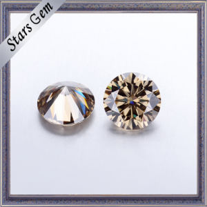 Execellent quality Champagne Color Moissanite Diamond pictures & photos