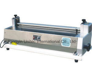 Stainless Steel Gluing Machine Js600/Js720/Js980 pictures & photos