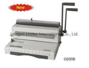 Popular Design Manual Calendar Binding Machine G930b pictures & photos