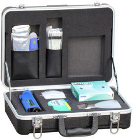 Deluxe Fiber Optic Cleaning Kit with 200X Inspection Scope pictures & photos