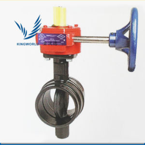 FM UL Ductile Iron Wafer Type Butterfly Valve pictures & photos