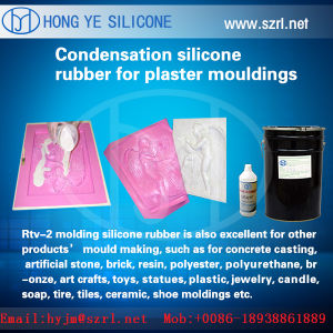 Strong Adhesive Silicone Rubber for Grc Cornice Mold pictures & photos