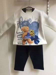 Bear Boy Baby Clothes in Children Kids Wear Sq-17110 pictures & photos