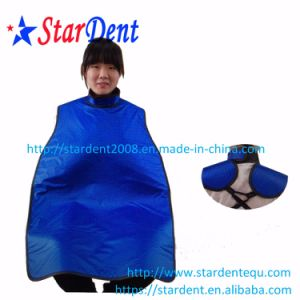 Dental X-ray Protective Clothing of High Collar Waistcoat Apron pictures & photos