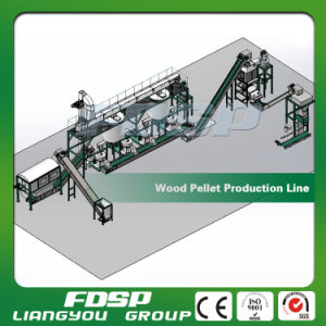 Biomass Wood Sawdust Burning Pellet Plant pictures & photos