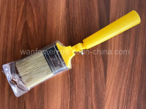 Plastic Handle Moving Paint Brush with Bristle Material pictures & photos