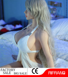 158cm D-Cup Sexy Toy Silicone Sex Doll with Real Vagina pictures & photos
