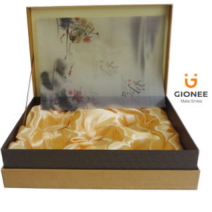 Delicate Paper Packaging Gift Boxes with Satin pictures & photos