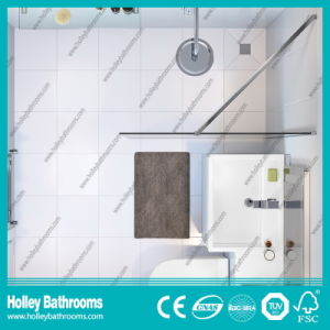 Popular Walk-in Shower Screen with Tempered Laminated Glass (SE925C) pictures & photos