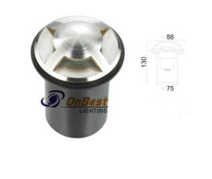 Top Quality Light 3W LED Underground Light for Uplight pictures & photos