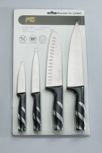 4 PCS Set of Forged Handle Knife