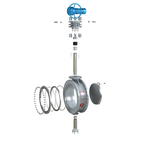 Bi Directional Metal Sealing Butterfly Valve pictures & photos