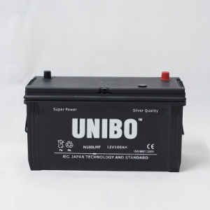 Heavy-Duty Maintenance Free N100L Mf 12V100ah Car Battery pictures & photos