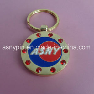Metal Company Red Crystal Keyrings Souvenir pictures & photos
