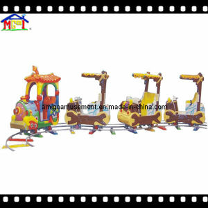 Electric Little Train Arcade Game Machines Fiberglass Toy pictures & photos