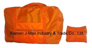 Customized Logo Design Bag 210d Ripstop Folding Backpack pictures & photos