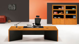 Modern MFC Laminated MDF Wooden Office Table (NS-NW279) pictures & photos